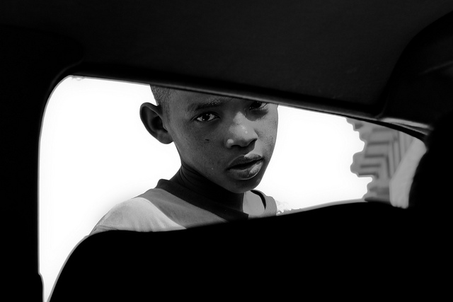 Picture: Road Trip Portrait, West Africa. Image credit: Geraint Rowland via Flickr, CC BY 2.0.