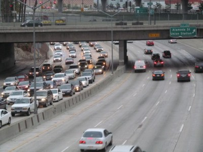 Traffic in Los Angeles. Image source: LBL