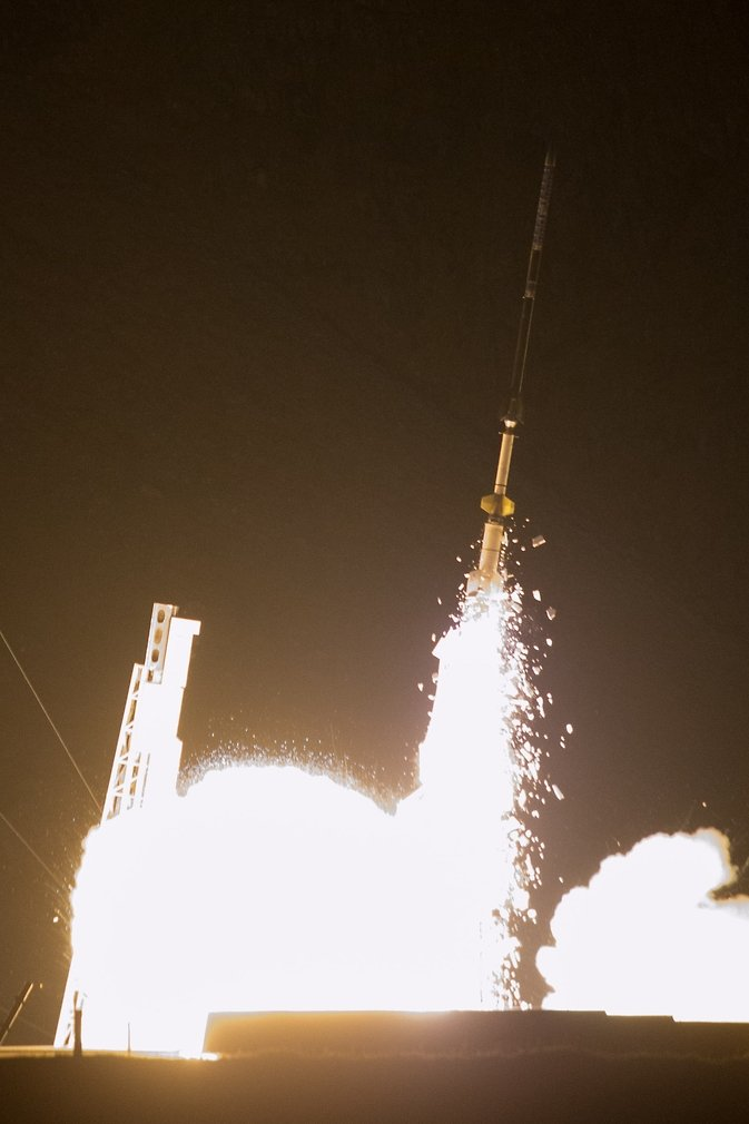 C-REX payload was successfully launch at 3:05 a.m. EST, November 24, 2014. Image Credit: NASA/Brea Reeves