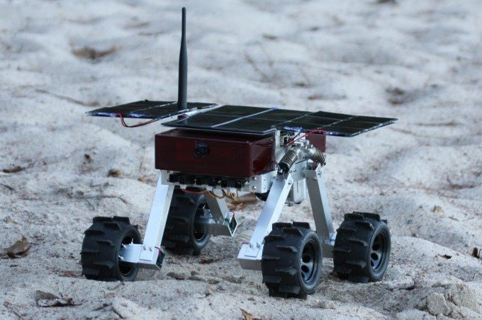 The Beaver Rover prototype. Credit: Thoth Technologies/Indiegogo