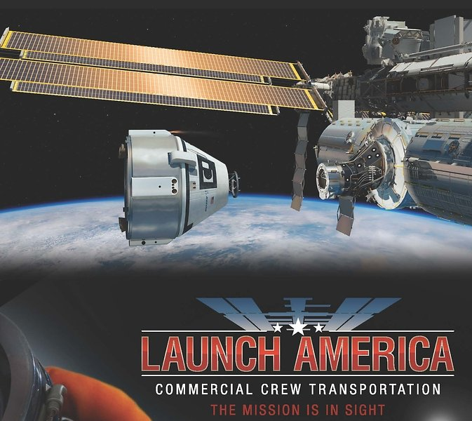 Commercial Crew Transportation. The Mission is in Sight. Image Credit: NASA