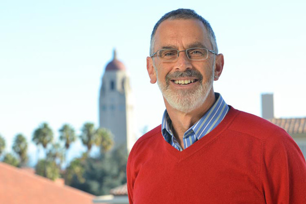 Russ Altman, a professor of bioengineering and of computer science at Stanford, will serve as faculty director of the One Hundred Year Study on Artificial Intelligence. Image credit: Rod Searcey
