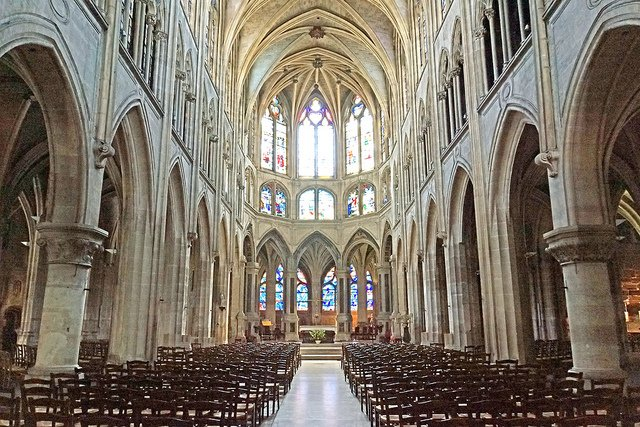 Picture: Church of Saint-Severin. Image credit: Dennis Jarvis via Flickr, CC BY-SA 2.0.