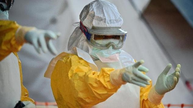 Stopping Ebola in its tracks calls for rapid control measures; long-term, is there a better way? Credit: USAID