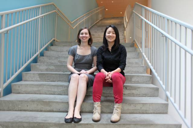 Julie Shah (left) and Been Kim. Photo: Jose-Luis Olivares/MIT