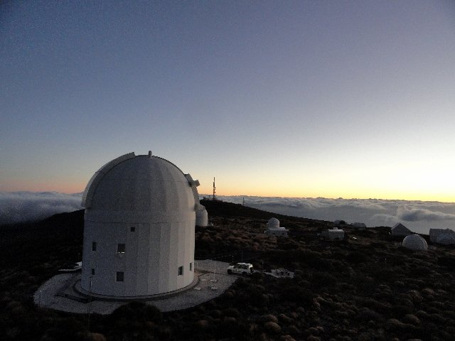 ESA's Optical Ground Station is 2400 m above sea level on the volcanic island of Tenerife. Aside from experiments for quantum communication and teleportation, the station is also used for standard laser communication with satellites, observation of space debris and finding new asteroids. Copyright ESA