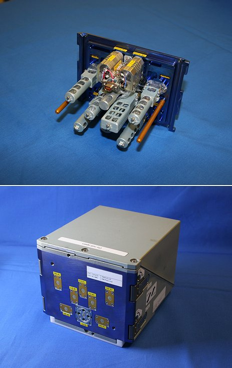 The Advanced Experimental Containment (AEC) hardware for the TripleLux experiments. Image Credit: ESA