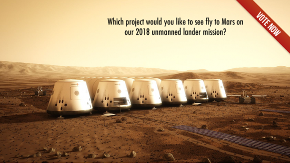 Promotional image for the Mars One University Competition. Credit: Mars One