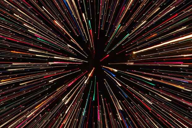 What would you see at the speed of light?