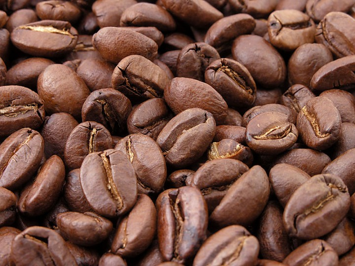 Picture: Roasted coffee beans. Image credit: MarkSweep via Wikimedia Commons/Public domain