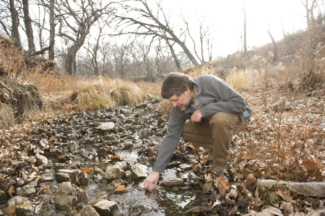 Walter Dodds, Kansas State University distinguished professor of biology, is leading a research team in creating the Stream Biome Gradient Concept, which is a way to compare streams in different climates and different continents.
