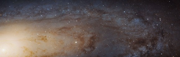 The Hubble Space Telescope's extreme close-up of M31, the Andromeda Galaxy. Picture released in January 2015. Credit: NASA, ESA, J. Dalcanton, B.F. Williams, and L.C. Johnson (University of Washington), the PHAT team, and R. Gendler