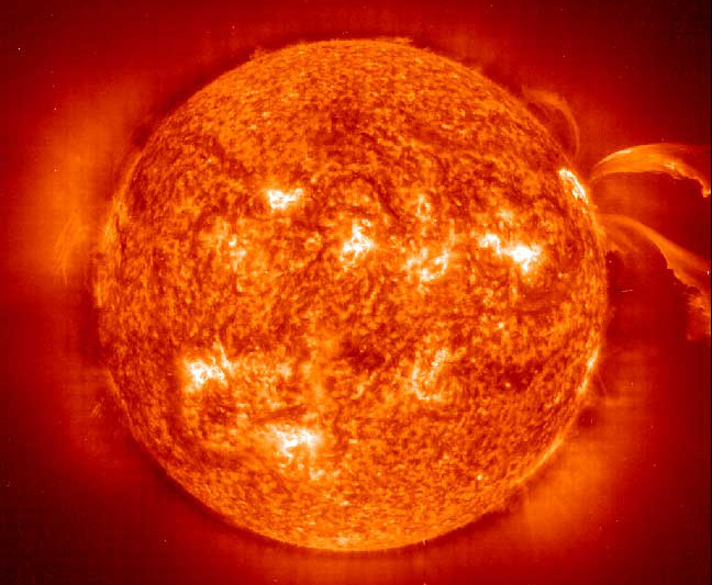 The Sun. Credit: NASA & European Space Agency (ESA)