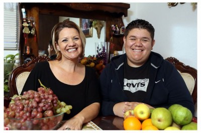 Veronica Romero has struggled to let go of the feeling that she was somehow responsible for her son Anthony's weight problems. She has since lost 150 pounds after undergoing gastric-bypass surgery at UCLA; Anthony is losing weight after enrolling in UCLA's Fit clinic.
