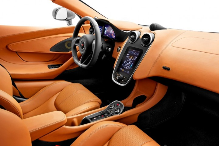 Cabin of the 570S is focused around the driver and is supposed to be practical and comfortable – McLaren says that 570S is the most useable McLaren to date. Image courtesy: McLaren