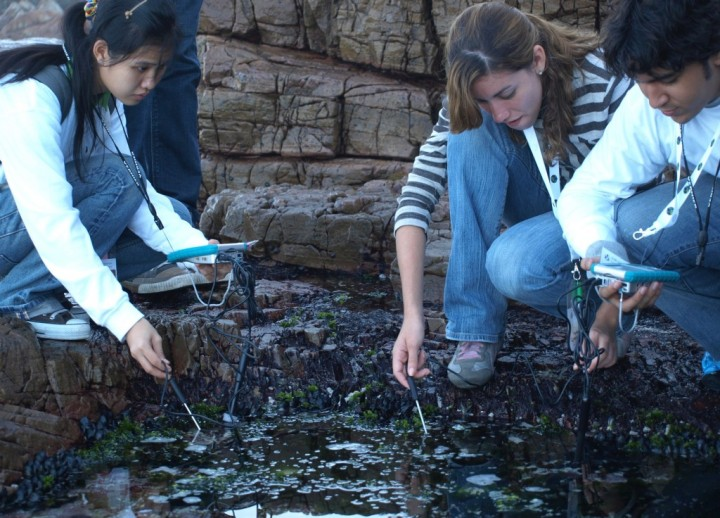 The GLOBE science and education program connects students, teachers, and citizen scientists with opportunities to collect science data through hands-on science in their local communities. Credits: GLOBE Program
