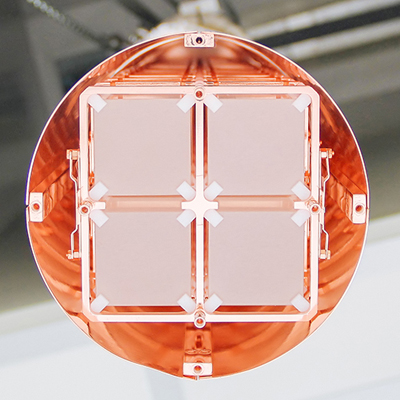 View of the detector before insertion into the cryostat. Image credit: CUORE collaboration
