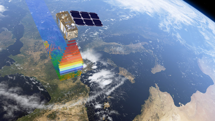 Combining high-resolution and novel multispectral capabilities, a swath width of 290 km and frequent revisit times, the new Sentinel-2 mission offers views of Earth's changing lands in unprecedented detail. Copyright ESA/ATG medialab