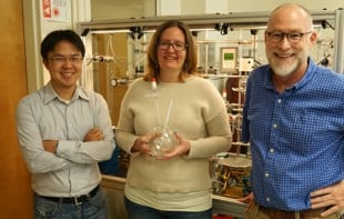 Using stable isotopic analysis, Laurence Yeung, Jeanine Ash and Edward Young discovered that plants and plankton impart a unique biosignature on the oxygen they produce during photosynthesis. Image credit: Doug Rumble