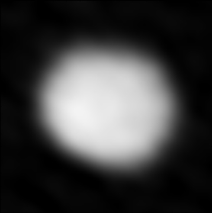 Juno, one of the largest members of the main asteroid belt, as seen with ALMA. Credit: ALMA (NRAO/ESO/NAOJ)
