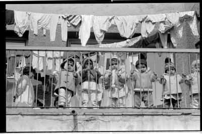 Children in an orphanage in Bucharest, Romania. Image credit: Michael Carroll