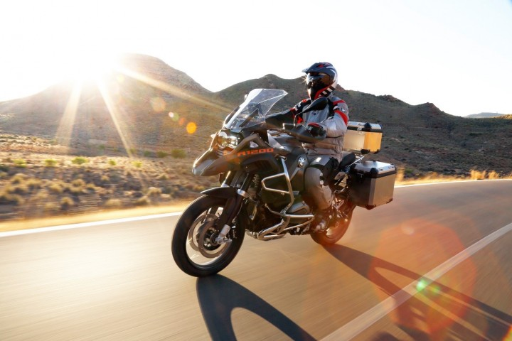 New BMW Motorrad equipment will have an airbag waistcoat, to protect upper body of the rider. Image courtesy of BMW