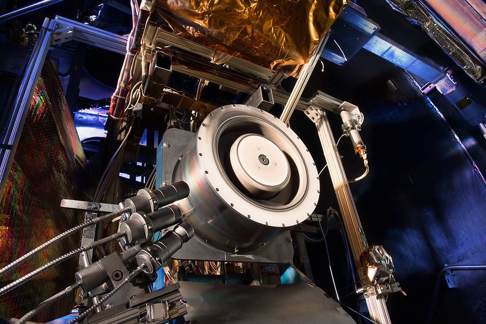Hall thruster. Image Credit: NASA