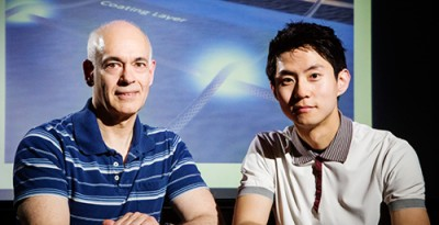 Electrical and computer engineering professor Joseph Lyding and graduate student Jae Won Do led a research team to develop a new method of soldering gaps between carbon nanotubes, a new type of transistor.