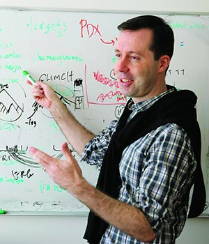 Dr. Olivier Elemento, associate professor of physiology and biophysics at Weill Cornell Medical College. John Abbott