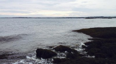 Long Island Sound from the Thimble Islands in Branford, CT. Image credit: Ariana Spawn