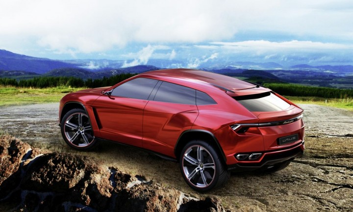 Lamborghini Urus concept – first company's SUV after LM002 is thought to be sporty, recognisable yet useable vehicle for fans of the company. Especially, families as it seats four people, and SUV enthusiasts, because it will feature all-wheel-drive technology. Image courtesy:  Audi