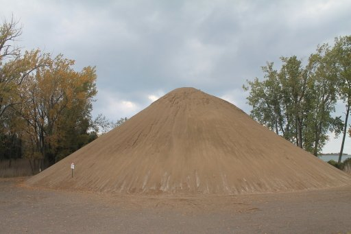 Big Sand Pile for Beach Restoration. Image credit: Andy Arthur via Flickr, CC BY 2.0