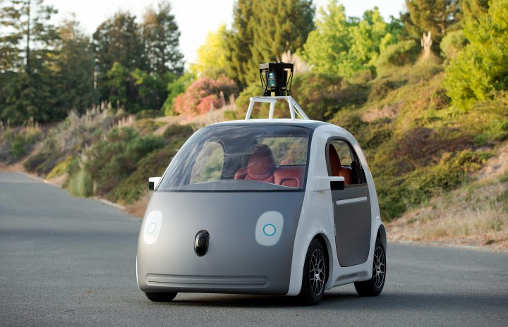 Google's self-driving cars (pictured above) are set to hit the public roads later this summer. Image credit: Webweisand Media Company via Flickr, CC BY-SA 2.0.