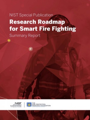 A report by NIST and FPRF lays out a research plan for advanced cyberphysical systems that could greatly improve fire-protection and fire-fighting capabilities. Image credit: NFPA