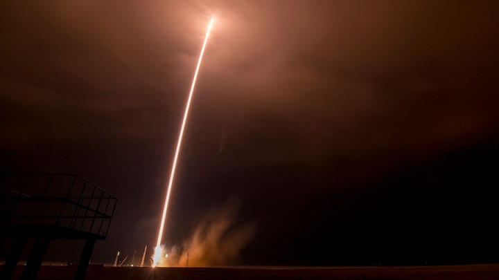 The Soyuz TMA-16M spacecraft launches to the International Space Station. Photo Credit (NASA/Bill Ingalls)