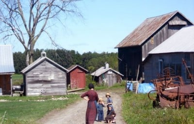 Asthma rates are much lower among children growing up in Amish farming communities compared to the average of industrialized societies. Image credit: Ian Lamont/Wikimedia Commons