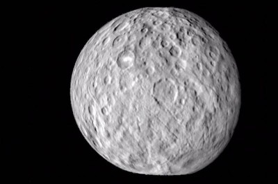 NASA/JPL-Caltech/UCLA/MPS/DLR/IDA The first images of Ceres from the Dawn mission reveal a surface filled with craters of many shapes and sizes.