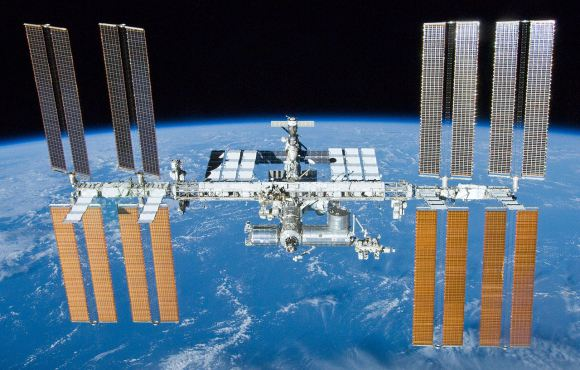 The International Space Station, photographed by the crew of the Space Shuttle Atlantis (STS-132). Credit: NASA