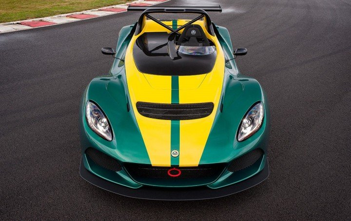 Lotus 3-Eleven is new record holder for Hethel track with time of 1 minute and 22 seconds. It was achieved with combination of light weight, aerodynamics and revised powertrain. Image courtesy of lotuscars.com