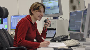 Software support engineer at ESOC. Image source: ESA