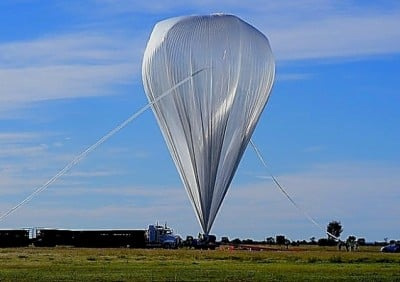 Giant balloons can take scientific equipment to the edge of space much cheaper that satellites. Ravi Sood, Author provided