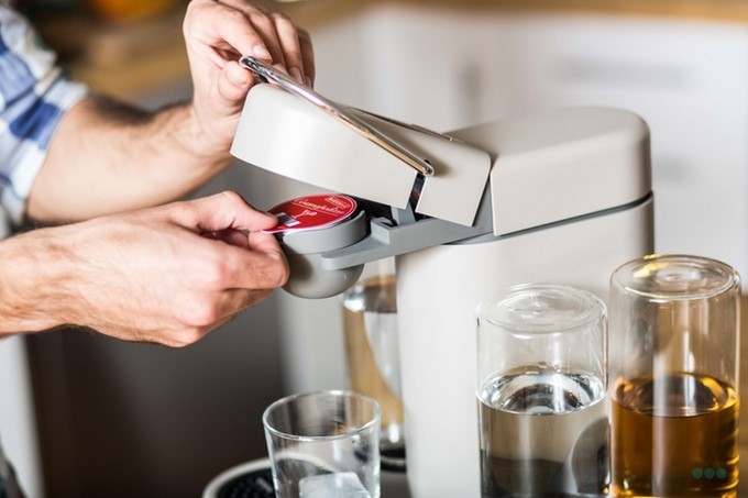 Bartesian is a machine with very simple controls and easy maintenance. It can make your favourite cocktails from capsules – no recipes, no manual mixing, and no mistakes. Delicious cocktails every time.