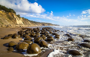 Bowling Ball Beach is one of the spectacular spots along California's Mendocino Coast that will be protected within the expanded Greater Farallones National Marine Sanctuary. Image credit: NOAA
