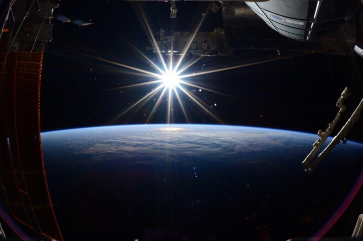 A final image of Earth taken by Expedition 43 commander Terry Virts of NASA aboard the International Space Station hours before returning home on Thursday, June 11, 2015. Credits: NASA