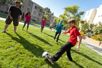 Daily recess and physical education is an important element in the Healthy Schools Program. Image credit: Alliance for a Healthier Generation