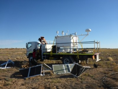 The super-pressure balloon payload recovered. NASA Columbia Scientific Balloon Facility, Author provided