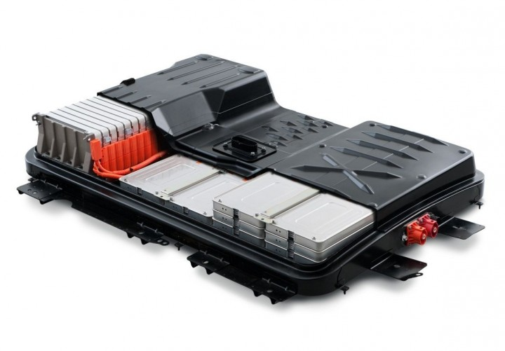 Battery pack from Nissan Leaf, world's bestselling electric vehicle. Now batteries like these, taken out of the car when they are no longer fit to power the vehicle, will have a second life in commercially available stationary power storage units. Image courtesy of nissannews.com.