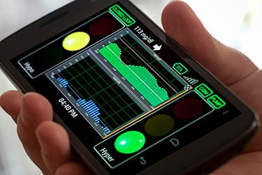 The Artificial Pancreas is an adapted smartphone that incorporates a glucose monitor and automatic insulin pump. It offers patients with type-1 diabetes a rare relief from the fear of dangerous low blood sugar episodes.