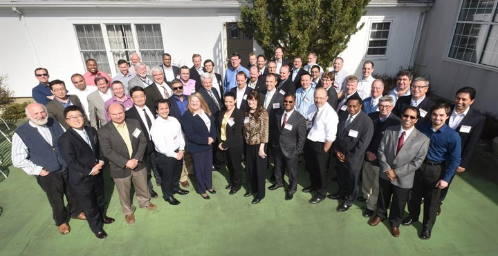 Participants in the recent Resilient Smart Grid workshop held at Brookhaven Lab.