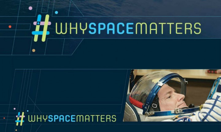 Each month, NASA astronaut Scott Kelly will announce the winning photo of the #whyspacematters competition by posting it to his Instagram account @StationCDRKelly. Credits: UNOOSA